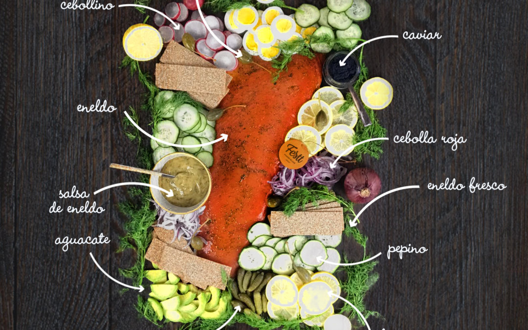 4 pasos para hacer la perfecta tabla de salmón marinado
